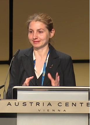 Dr Ira Didenkulova. Credit: EGU